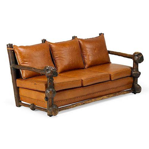 THOMAS MOLESWORTH Rare three-seat sofa