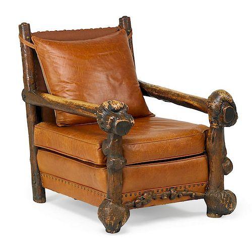 THOMAS MOLESWORTH Rare armchair