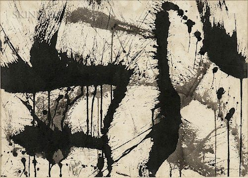 Norman Bluhm (American, 1921-1999)  Untitled