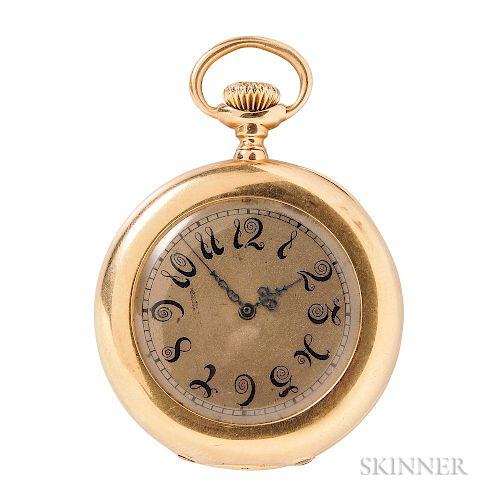 Antique 18kt Gold Open-face Pocket Watch, Patek Philippe