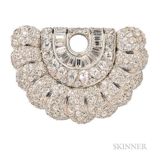 Art Deco Diamond Element