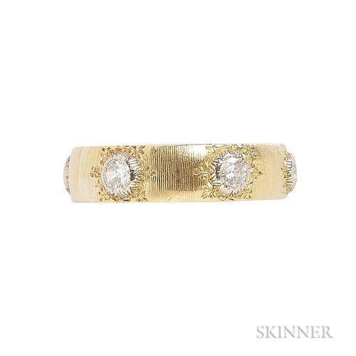 18kt Gold and Diamond Ring, Buccellati