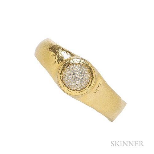 High-karat Gold and Diamond Bracelet, Gurhan