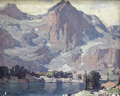 Painting, Edgar Alwin Payne by Clars Auction Gallery