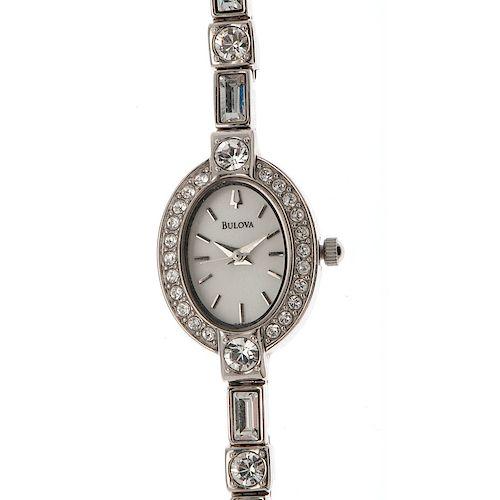 Bulova 96T49 Quartz Wrist Watch