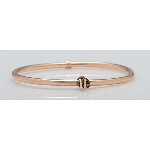 14 Karat Rose Gold Bracelet