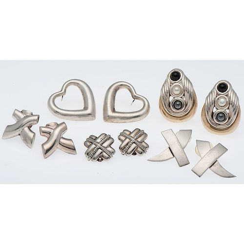 Sterling Silver Earring Group