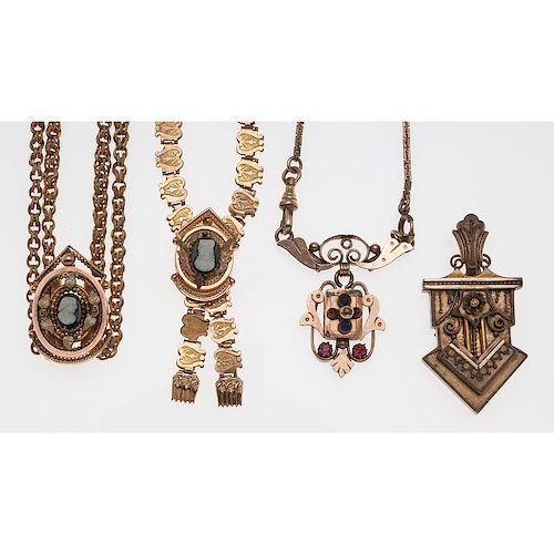 Gold Filled Victorian Jewelry