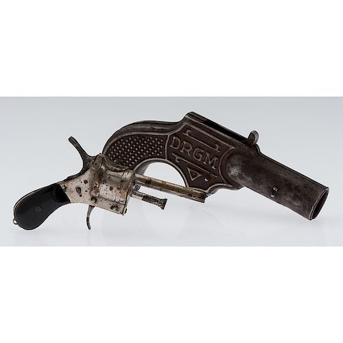 Pistol Form Cigar Cutter and Punch