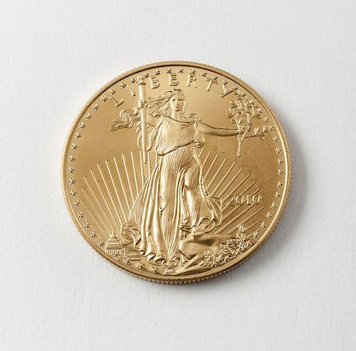 2010 $50 1 Oz. American Eagle Gold Coin