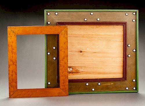 Two Nineteenth Century Frames