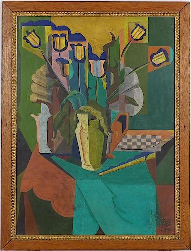Andre Lhote  (French, 1885-1962), Attr. Modernist Painting