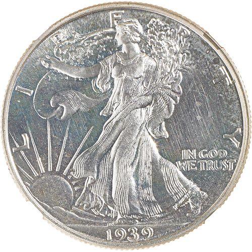 U.S. 1939 PROOF WALKING LIBERTY 50C COIN