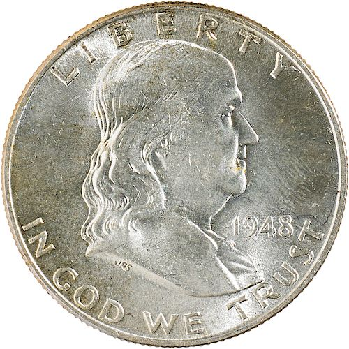 U.S. FRANKLIN 50C COINS
