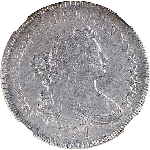 U.S. 1797 9X7 STARS LARGE LETTERS $1 COIN