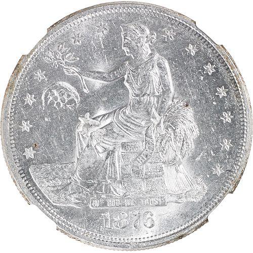 U.S. 1876-S TRADE $1 COIN