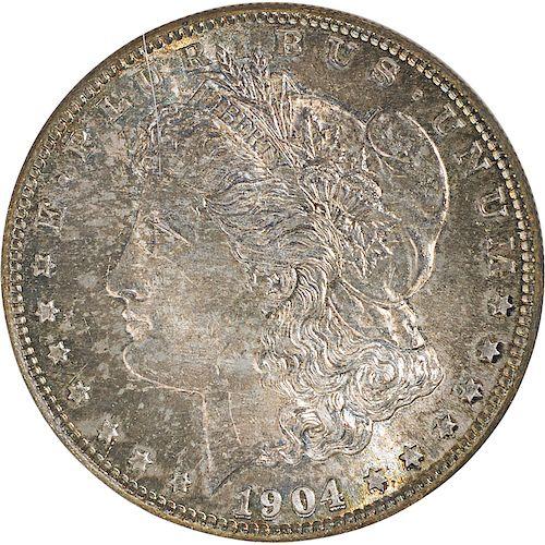 U.S. 1904-S MORGAN $1 COIN