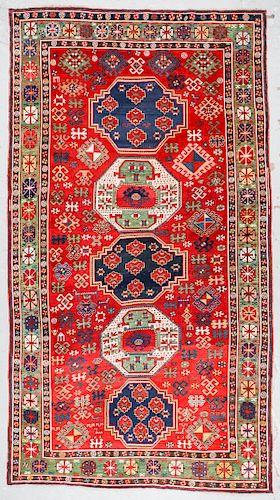 Antique Kazak Rug, Caucasus: 6'3'' x 11'6''