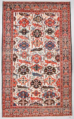 Antique Baktiari Rug, Persia: 10'10'' x 17'7''