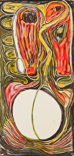 Errol McKenzie (Jamaican, 20th c.) Painting