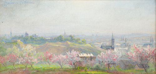 "Hobson Pittman (1900-1972) ""Spring"", oil painting"