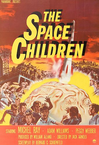 "Period Film Poster, ""The Space Children"", 1958"