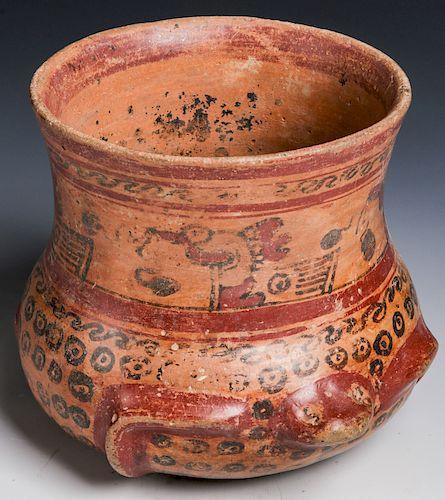 Figural Pot, Mayan, Probably Guatemala, 600-900 AD