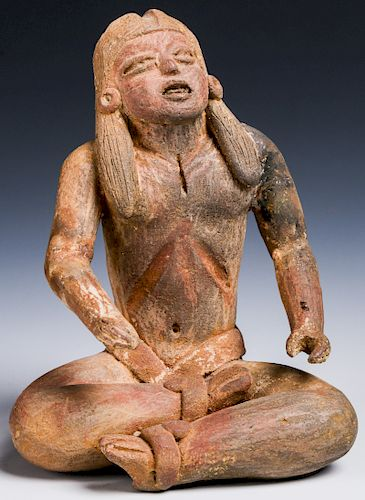 Mayan Seated Lord, Mexico, ca. 550-750 CE