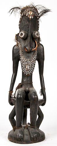 Iatmul Seated Figure, Papua New Guinea