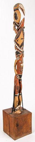 Maprick/Abelam Standing Figure, Middle Sepik Region