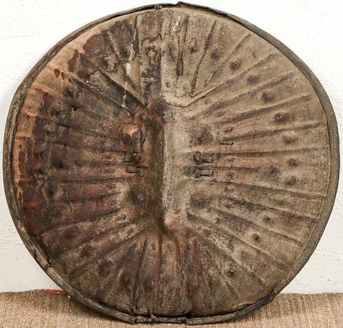 Amarro/Wallamo Leather Shield, Ethiopia