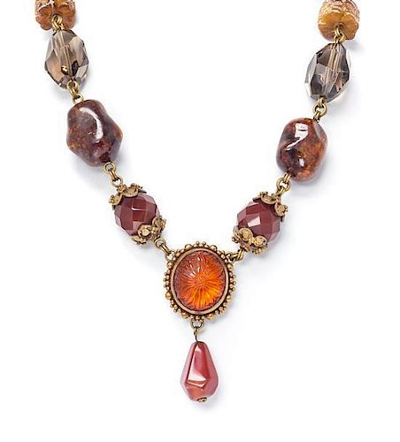 A Collection of Silver-Gilt and Multi Gem Jewelry, Stephen Dweck, 127.90 dwts.