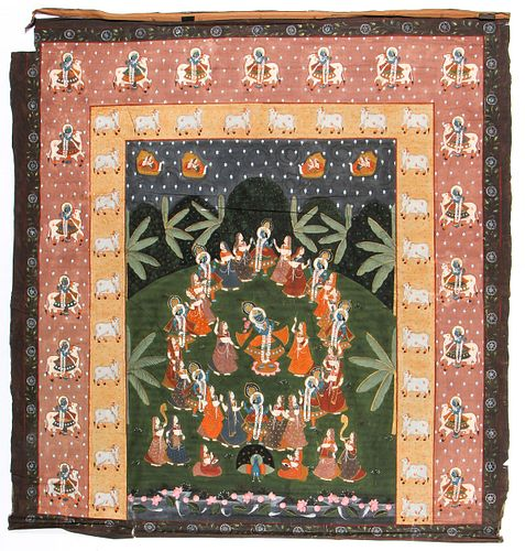 Antique Painting on Cloth, India