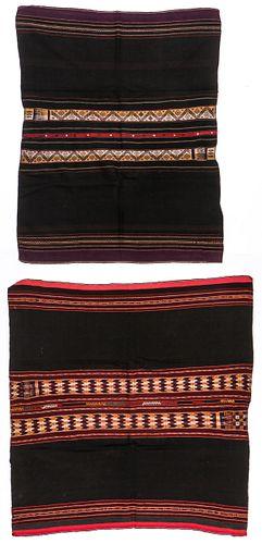 2 Antique Woven Textiles, South America