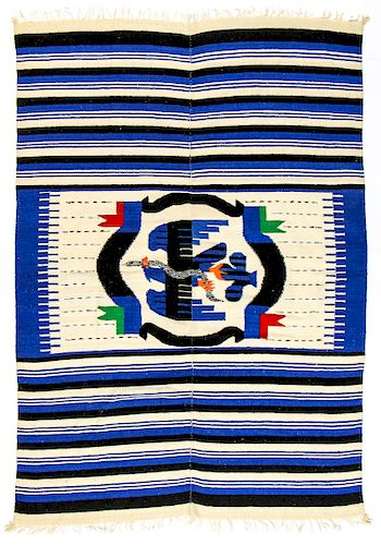 Vintage Mexican Tapestry