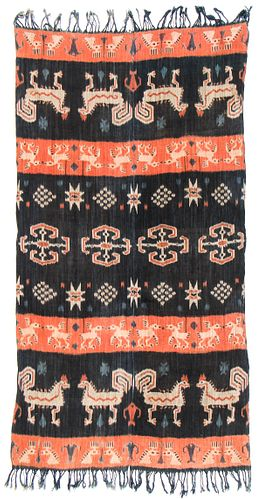Indonesian Sumba Ikat, Early/Mid 20th C