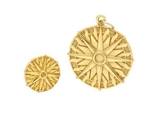 A Collection of 14 Karat Yellow Gold Jewelry, Tiffany & Co, 3.70 dwts.