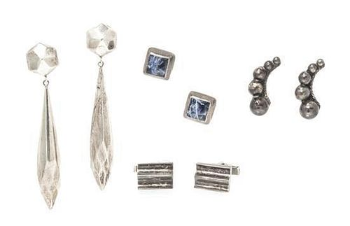 A Collection of Silver Jewelry, 28.10 dwts.