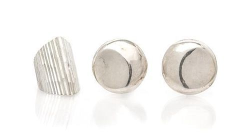 * A Collection of Sterling Silver Jewelry, Taxco, 28.00 dwts.