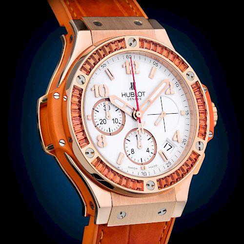Hublot Big Bang Tutti Frutti Orange Watch, ref. 341.PO.2010.LR.1906