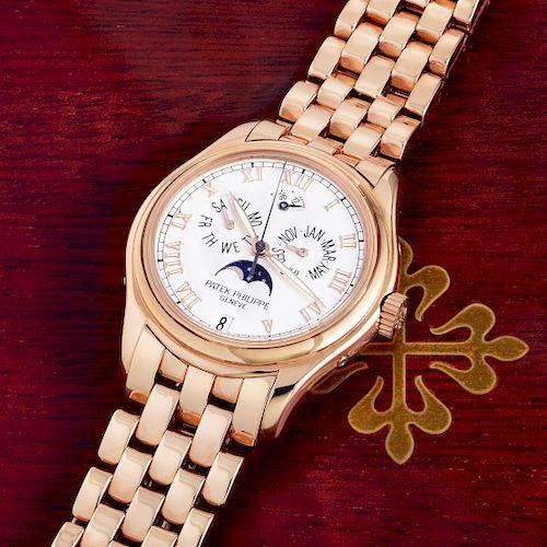 Patek Philippe 18K Rose Gold Annual Calendar Watch, ref. 5036/1R
