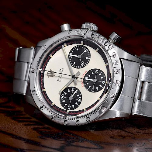 """A Rare and Highly-Desirable Rolex """"Paul Newman"""" Daytona, ref. 6239"""
