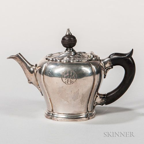 Dutch Silver Teapot