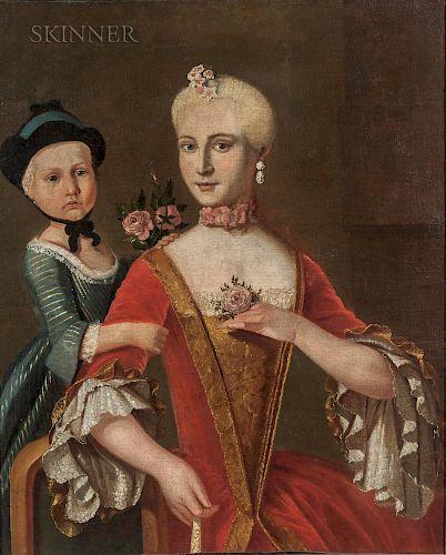 School of Pietro Antonio Rotari (Italian, 1707-1762)  Mother and Daughter