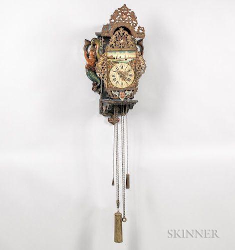 Frisian Stoeltjes Clock