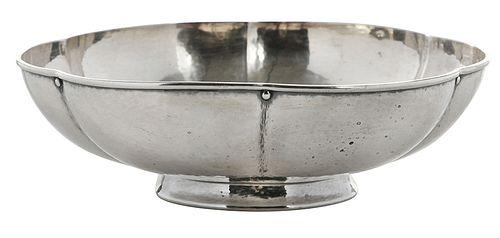 Tiffany Sterling Lobed Bowl
