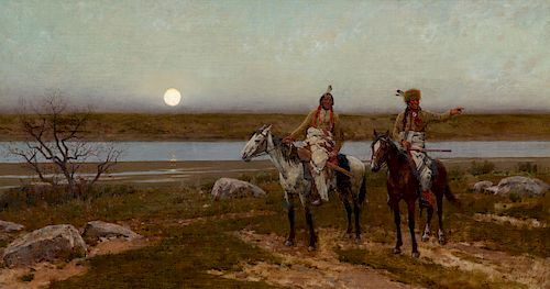 Henry Farny (1847-1916), Pastures New (1901)