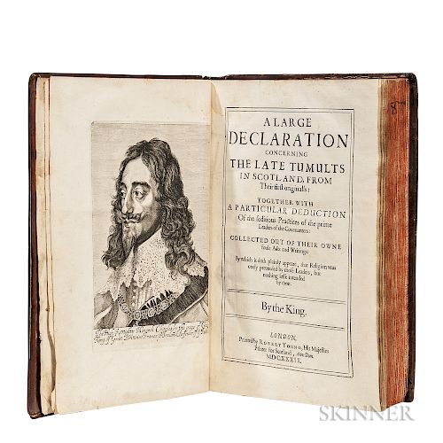 Balcanquhall, Walter (1586?-1645) A Large Declaration Concerning the Late Tumults in Scotland.