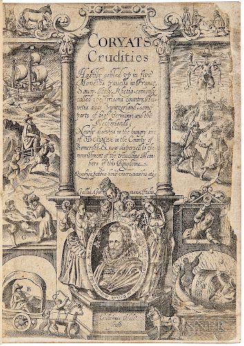 Coryate, Thomas (1577-1617) Coryats Crudities; Hastily Gobled up in Five Moneths Trauells.