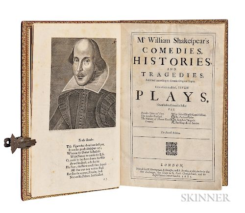 Shakespeare, William (1564-1616) Mr. William Shakespear's Comedies, Histories, and Tragedies. Published according to the true Original